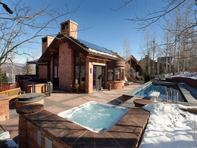 Ski in ski out rental with pool & hot tub in Snowmass Village, Colorado