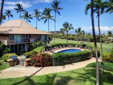 Walk to beach rental with pool & golf course view in Kaanapali, Hawaii