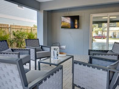 Wall Mounted TV Outdoors