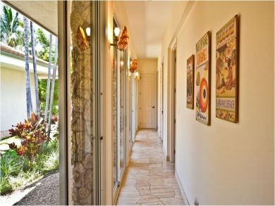 Inner Courtyard Hallway Leading To Guest Bedrooms
