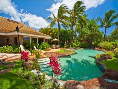 Lush Tropical Gardens