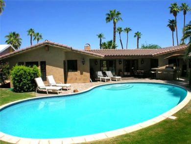 Spanish Hacienda Style Home in Palm Desert, California