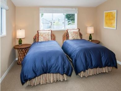 Twin Beds in Fourth Bedroom