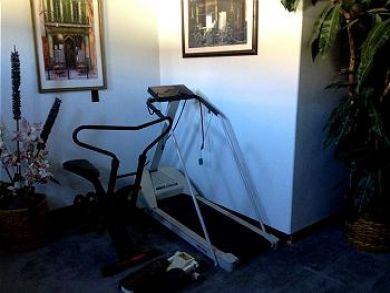 Work Out Room & Library
