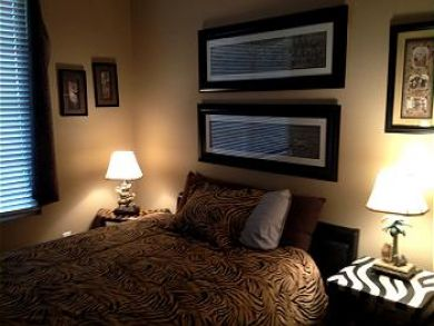 Queen Bed in Second Bedroom