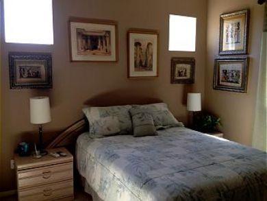 Third Bedroom has Queen Bed