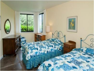 Twin Beds in Bedroom Four