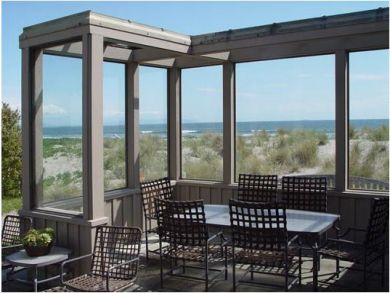 Protected Oceanside Patio