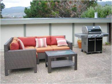 Lounge Set & BBQ Grill