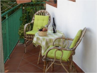 Balcony with Bistro Table