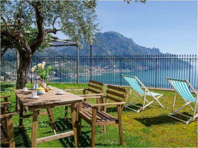 Coastline & Mountains View Rental Home in Ravello, Salerno, Italy
