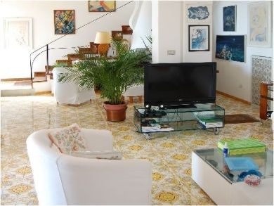 Flat Screen TV in Living Area