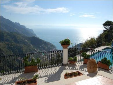 Vacation Home with Magnificent Views in Ravello, Salerno, Italy