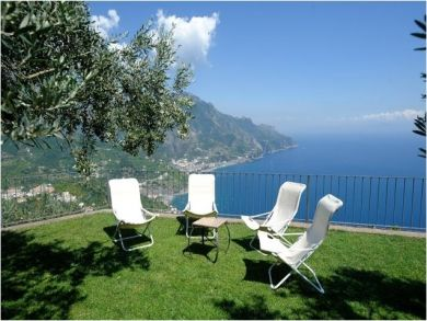 Ravello, Salerno, Italy Rental Villa with Spectacular Views