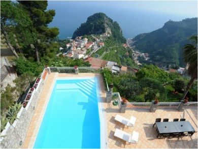 Mountains & Sea View Rental Home in Scala, Salerno, Italy