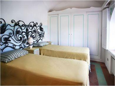 Guest Bedroom has Twin Beds