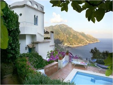 Ravello, Salerno, Italy Vacation Home with Sea & Mountain View