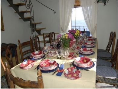 Dining Room with Sea View