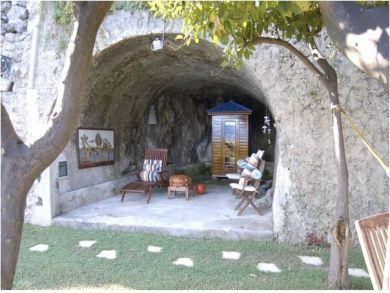 Sauna into the Natural Cave