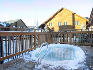 Canyons Resort, Park City, Utah Vacation Townhome with Two Shared hot Tubs