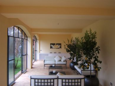 One of Three Living Areas