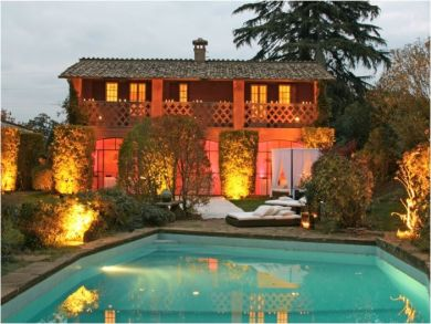 Spectacular Country Villa in Lago Bracciano, Rome, Italy