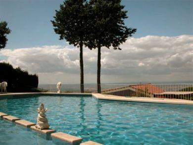 Ocean View Vacation Villa in Tivoli, Rome, Italy