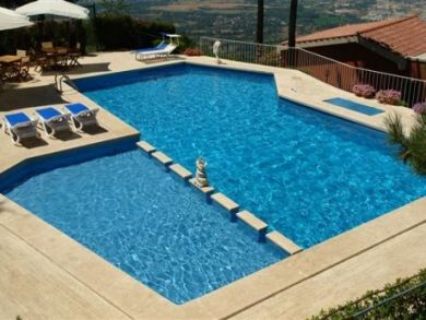 Swimming Pool with Children's Shallow Water Area