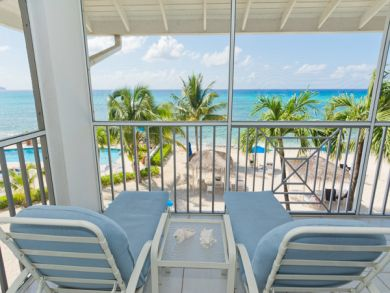 Chaise Lounge Chairs on Balcony