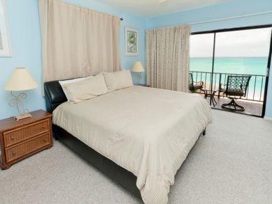 King Bed in Master Bedroom