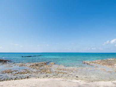 Overlooking the Caribbean Sea