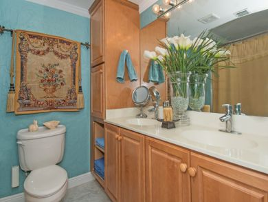 Bathroom with His & Her Sinks