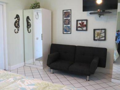 Bedroom TV Area