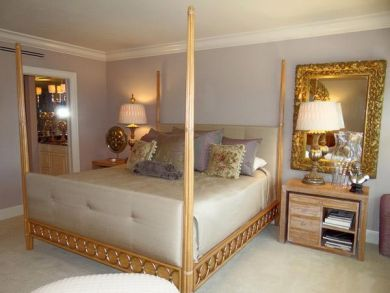 Elegant Master Bedroom with Four Poster Bed