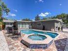 Siesta Key Vacation rental Home Poll & Hot Tub