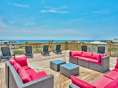 Rooftop Deck with Furniture