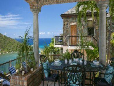 Beautiful 3 Bedroom St John Pool Villa Bay Views Sleeps 6