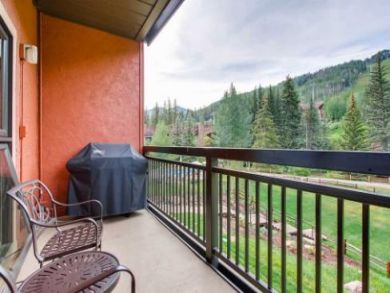 One Bedroom Mountain View Condo will Sleep Four Guests