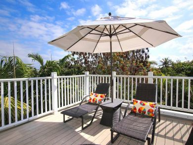 Deck with Sun Loungers