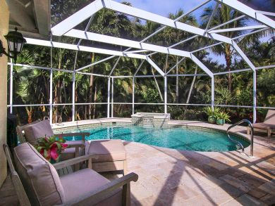 Pool with Outdoor Furniture