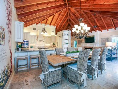 Open Plan Kitchen & Dining Areas