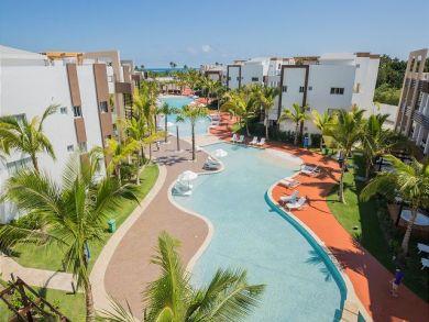 pool with condo in dominican repubilc