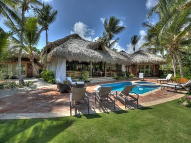 Dominican Three Bedroom Villa with lots of space and pool