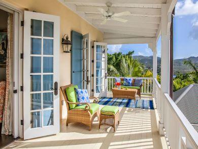 Luxury St Crois Villa A Walk to the Beach