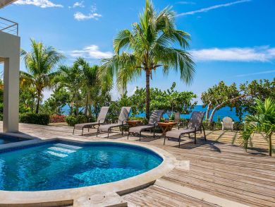 Negril Waterfront Luxury Vacation Villa Jamaica Pool