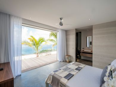 St Barts 5 Bedroom Luxury Villa Sea View