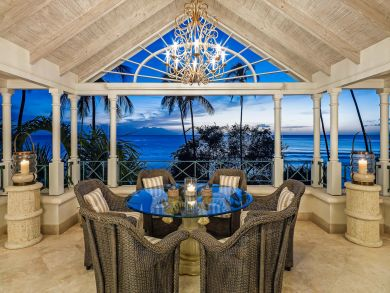 Dine Under the Stars Two Storey Penthouse Villa Schooner Bay