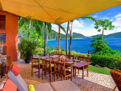 Five Bedroom Rental with full Ocean Views on the BVI