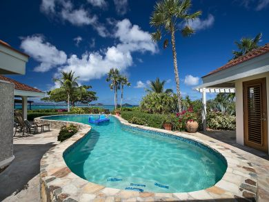 Luxury Five Bedroom Villa on the British Virgin Islands