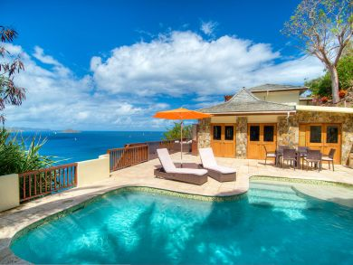 Four Bedroom Vacation Rental on the BVI with Ocean Views